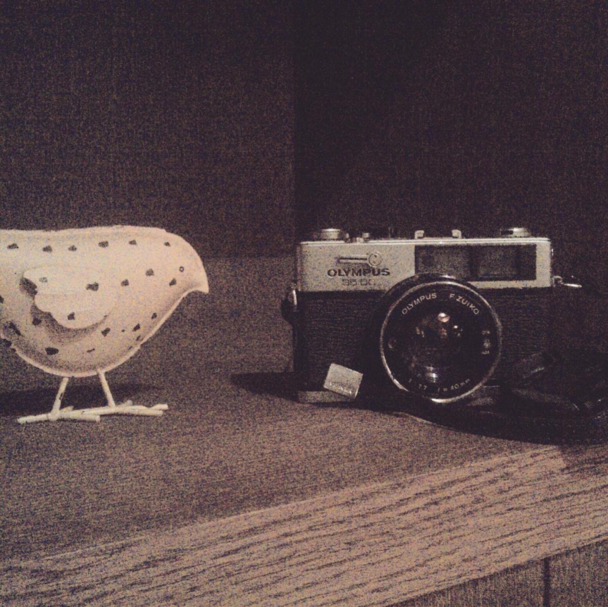 My cameras - Olympus 35DC